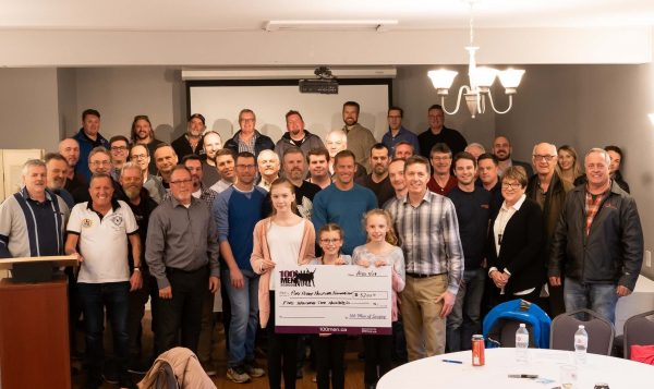 100 men who care Scugog Donation
