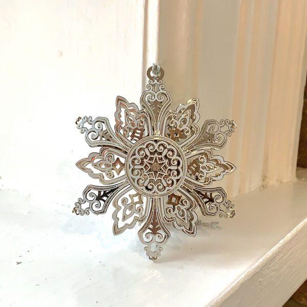 Dana's Goldsmithing Snowflake Ornament